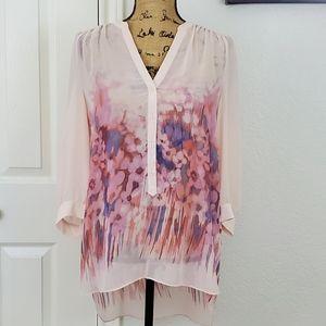 LC Lauren Conrad blouse sz L